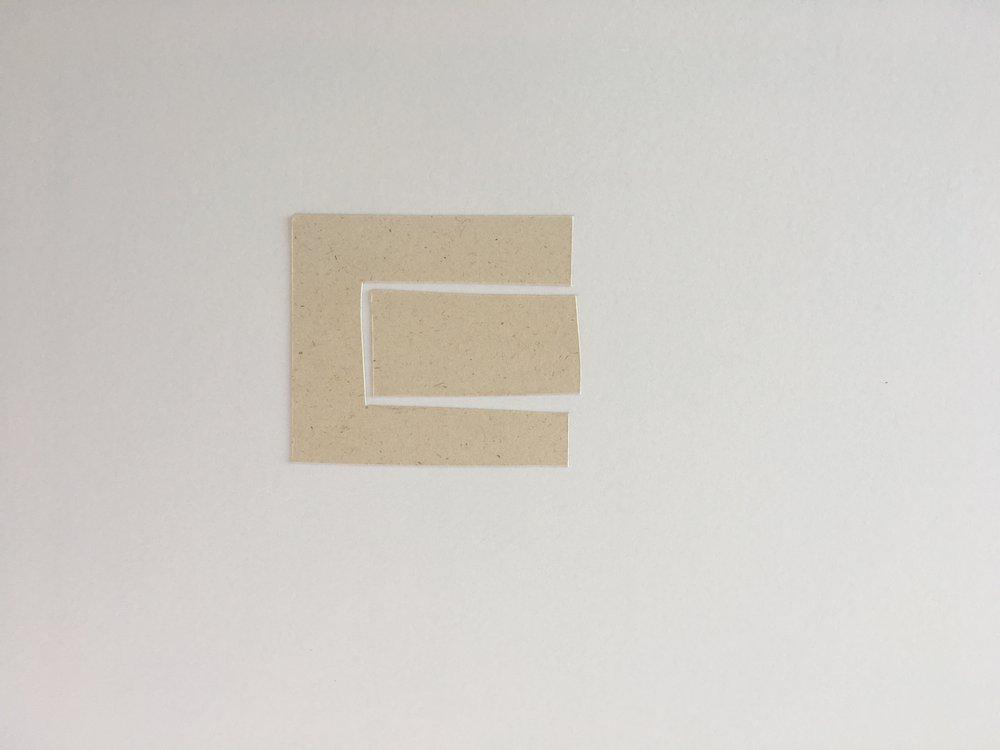 Gone , 2:8, Paper On Paper, 36 x 28 cm, 2019.JPG