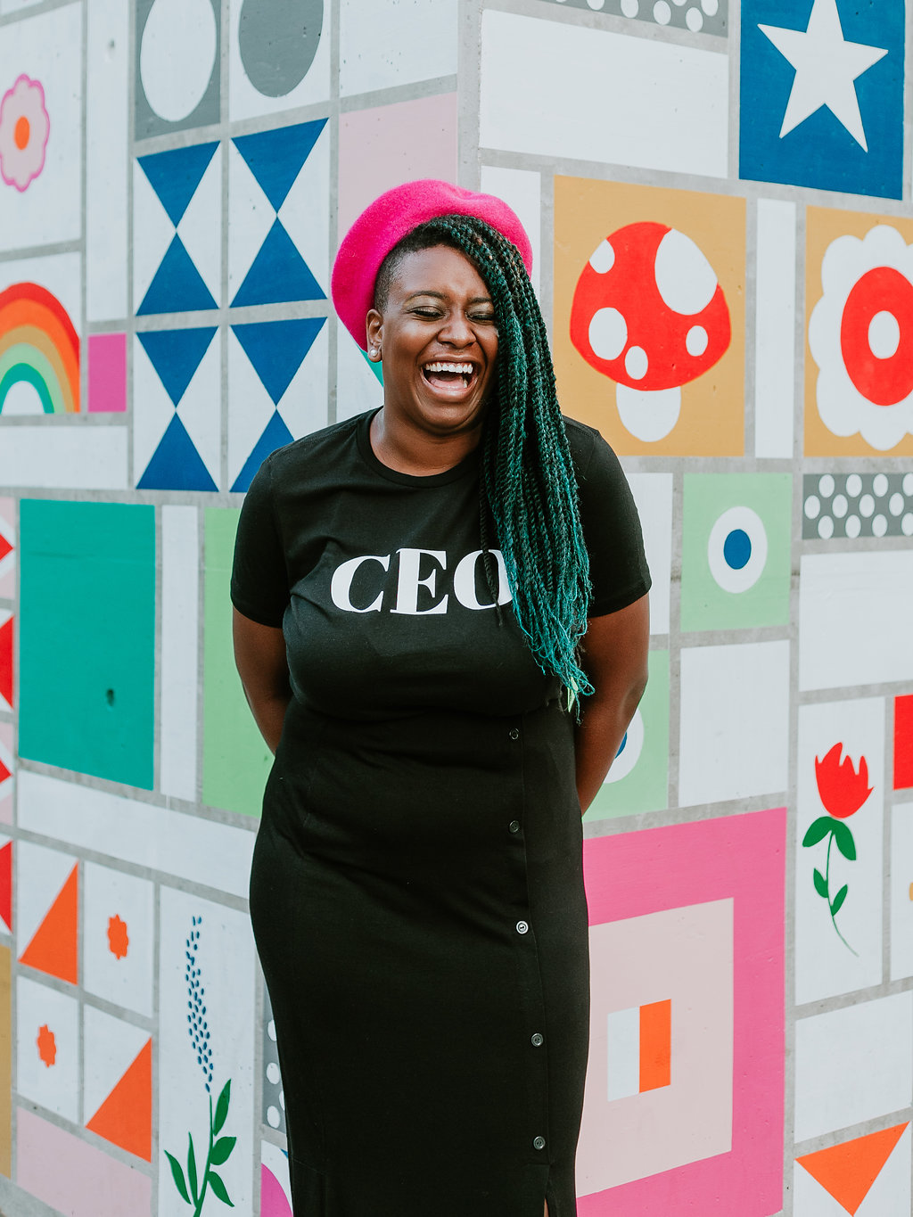 The CEO T-Shirt travel product recommended by Hannah on Pretty Progressive.