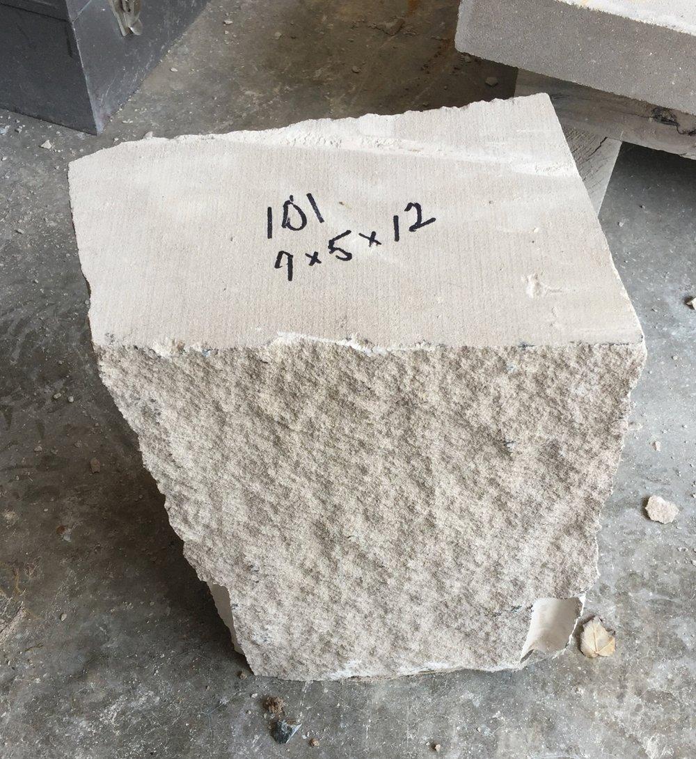 "Block 101- aprox 46lbs. - 9"" x 5"" x 12"" - $15"