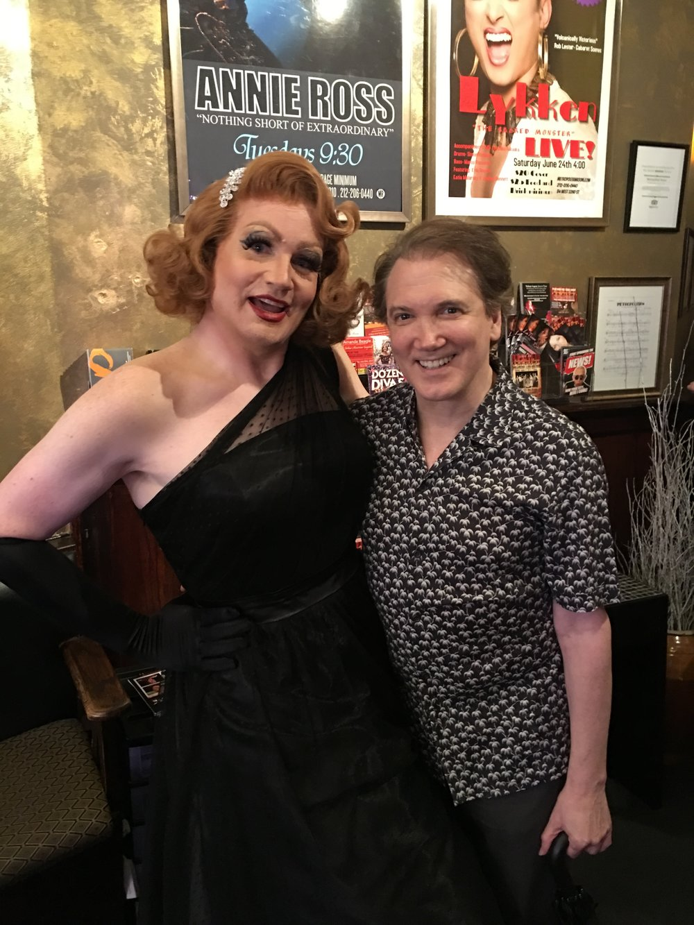 Cathy With Charles Busch