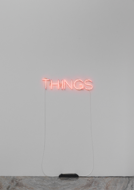 Martin Creed, Things (2004)