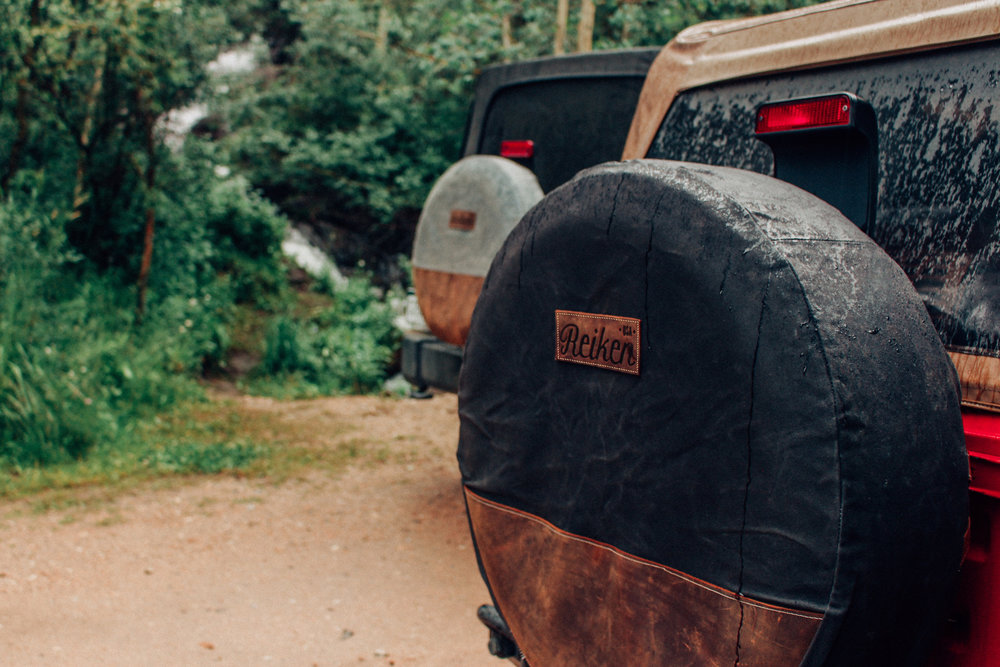 A NEW AGE OF TIRE COVER - THAT PERFECTLY COMBINES BOTH STYLE AND DURABILITY.