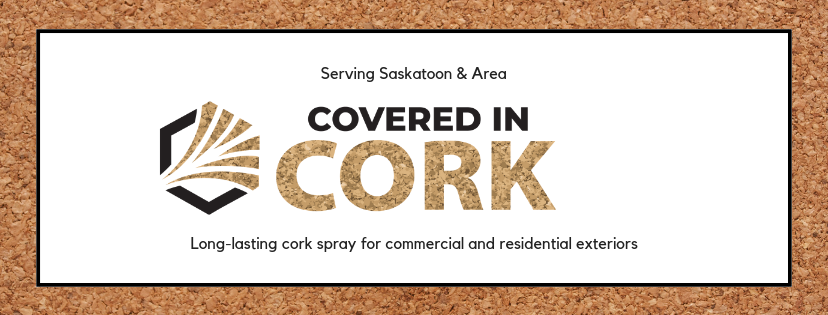 Covered In Cork - Long-lasting cork spray for commercial and residential exteriors