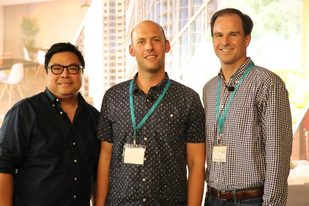 Michael Hsu, Matt McDonnell, and Ryan Steglich