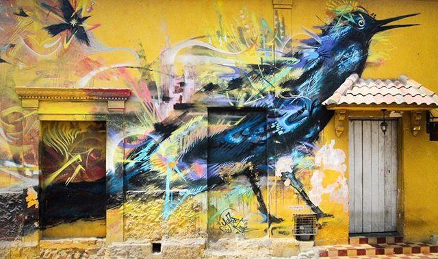 📍: 🇨🇴| Urban art that enchants and inspires | #mariamulata #getsemani #getsemaní #cartagena #cartagenadeindias #cartagenacolombia #oldcartagena #ig_cartagena #bolivar #colombia #topcolombiaphoto #topcartagenaphoto #igerscolombia #ig_colombia #colombiarte #colombiaespasion #colombiaespasión #lovetheworld #tourtheplanet #letsgoeverywhere #passionpassport #wowshots #tlpicks #traveldeeper