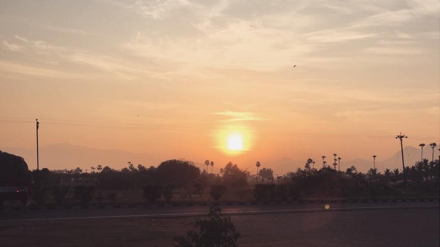 Sunrise at Kodikkarai