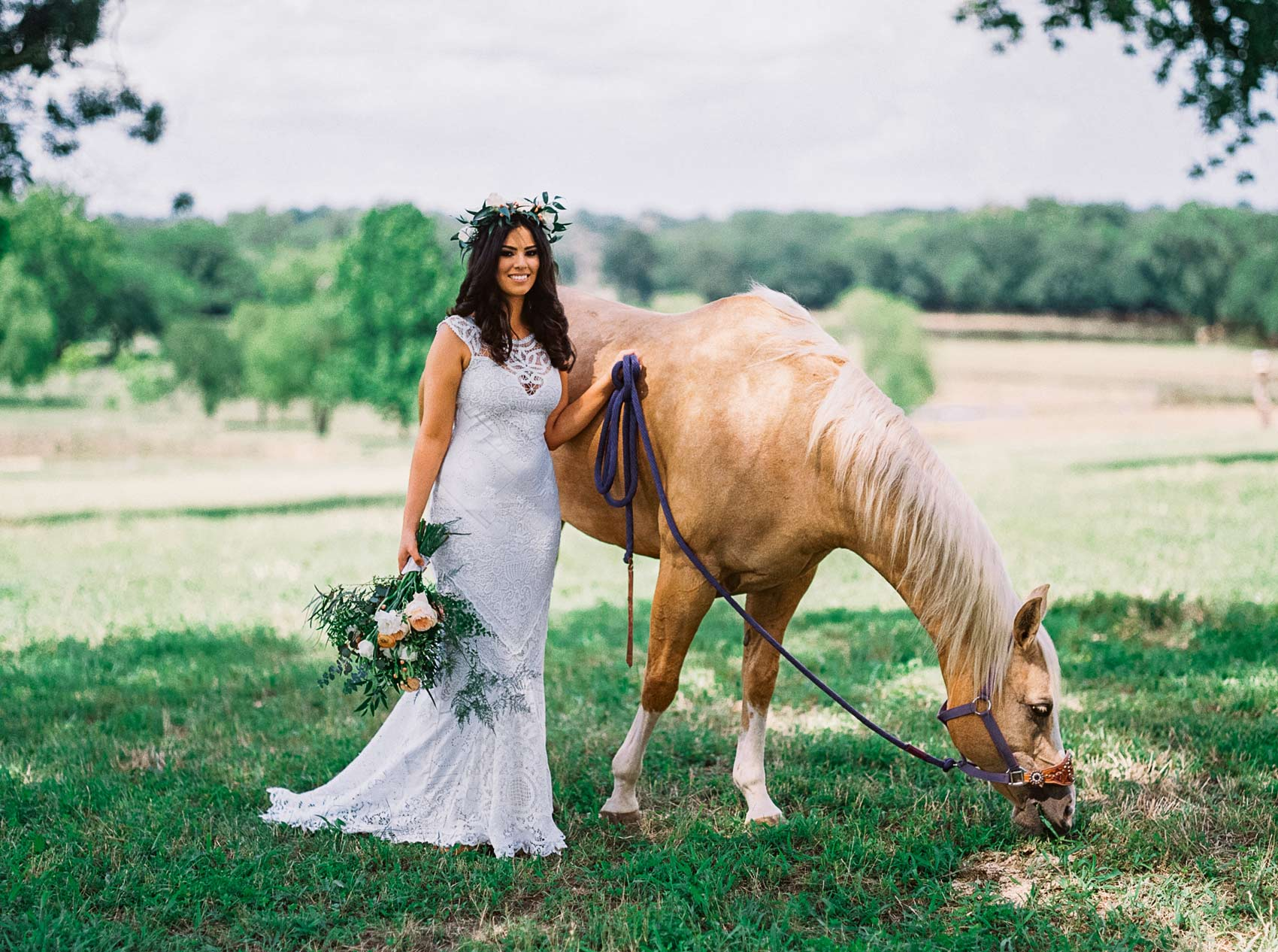 StarHill Farms Bride and Horse