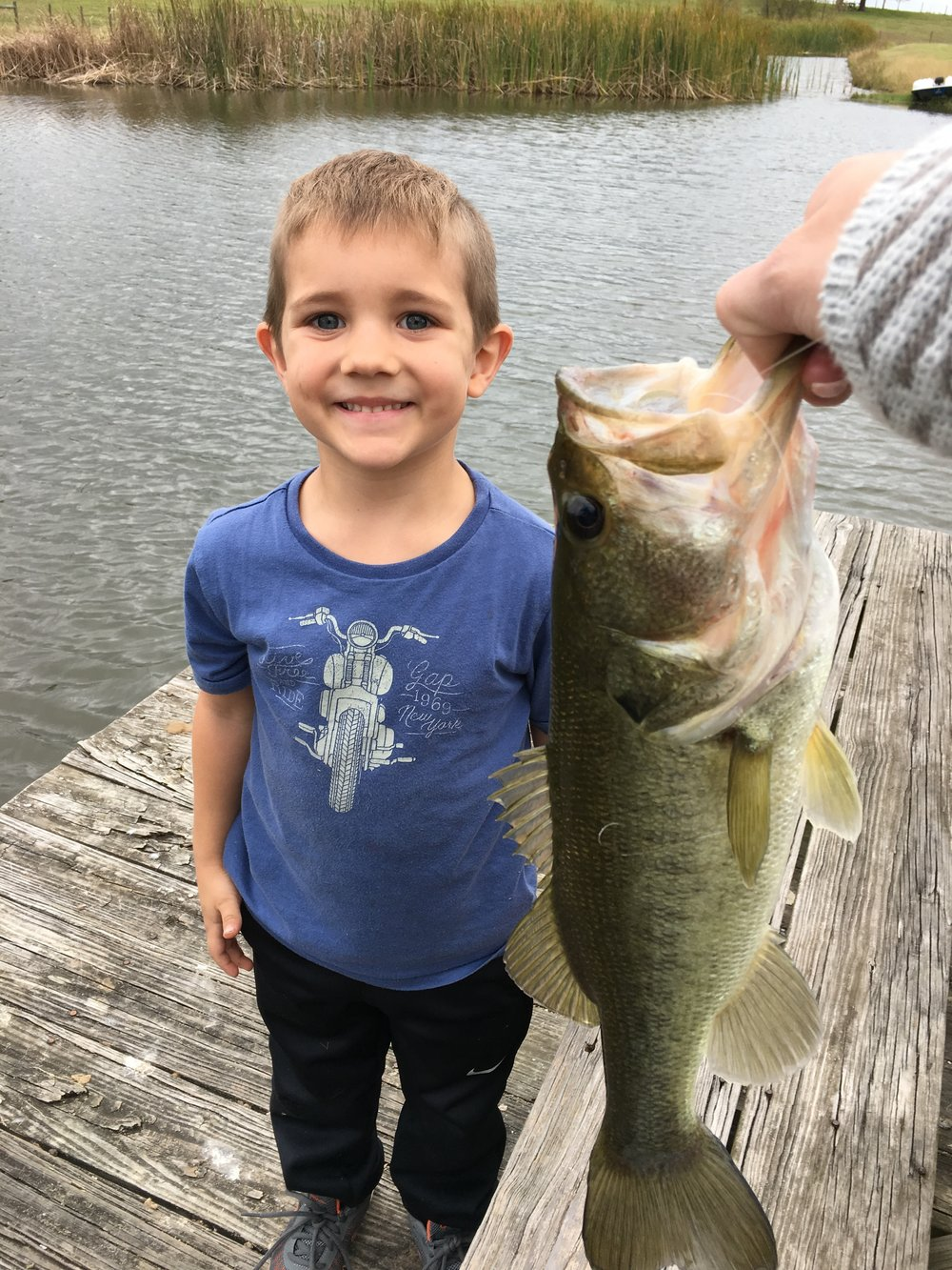Gunnar's Big Catch