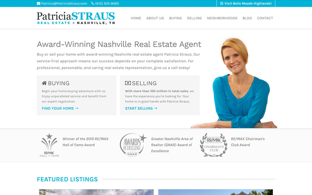 Patricia Straus: Nashville Realtor
