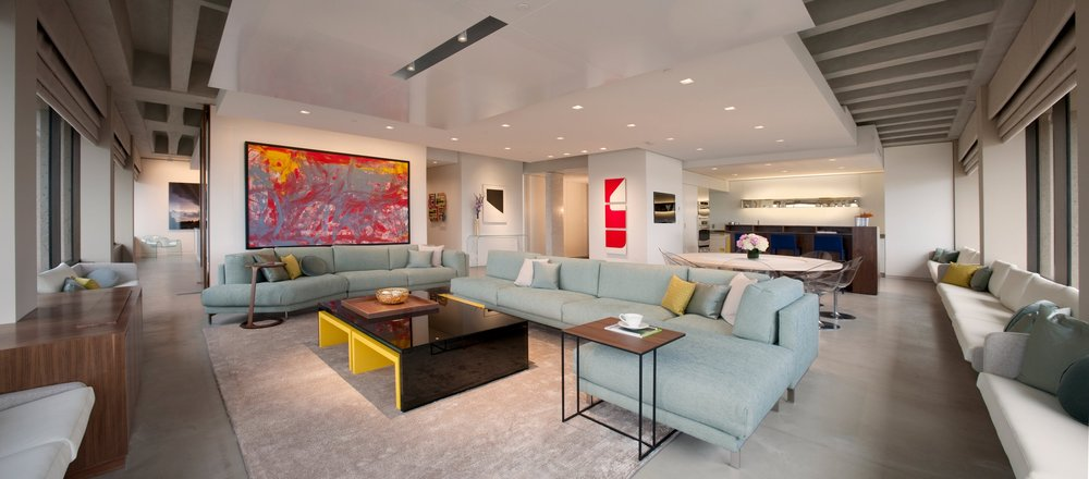 Midwest Penthouse Oklahoma City, Oklahoma Eileen Pierce with Renfro Design Group, Inc.