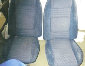 1980 Trans Am Car Seats, before