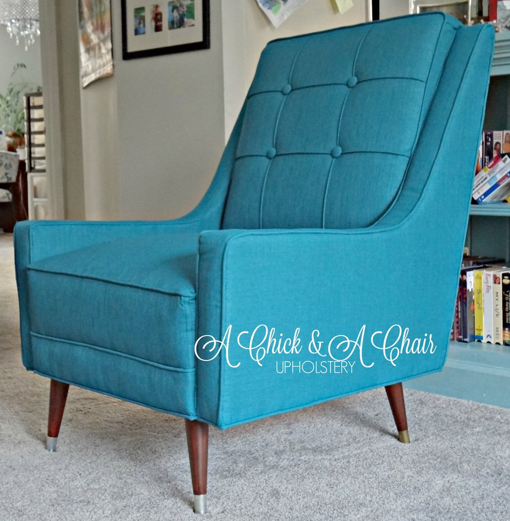 Beautiful Teal Mid-Century New Upholstery by A Chick & A Chair.jpg