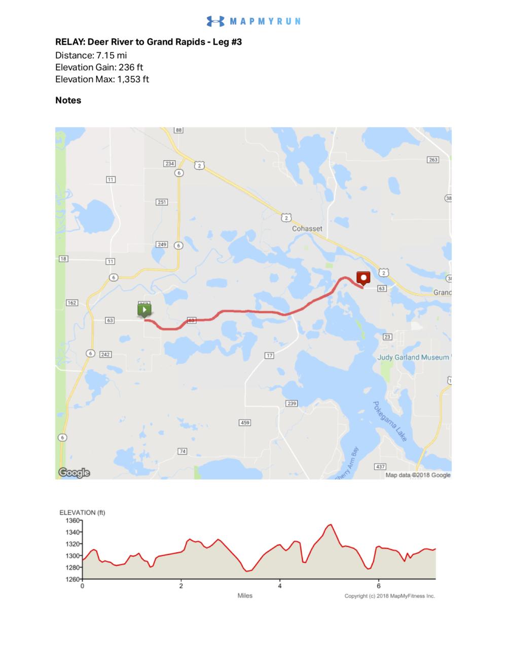 Leg #3 - Deer River to Grand Rapids