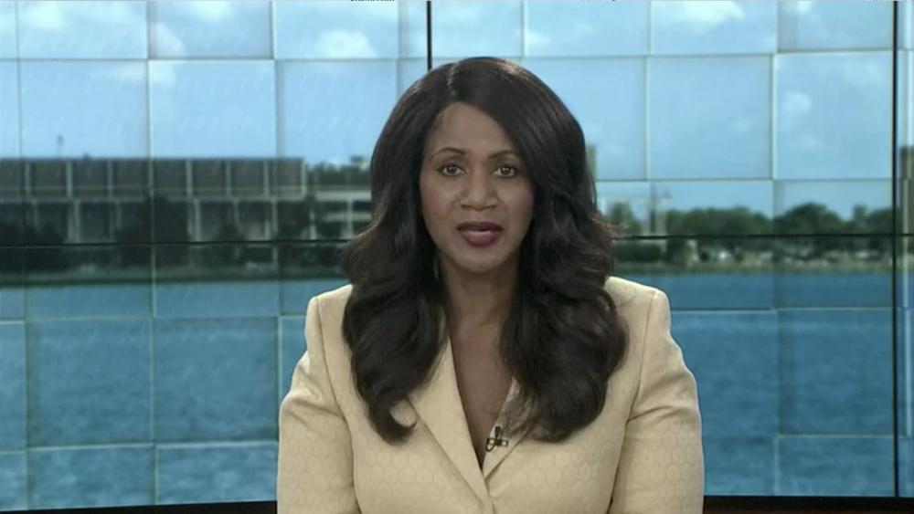 Cynthia Arceneaux opening the segment