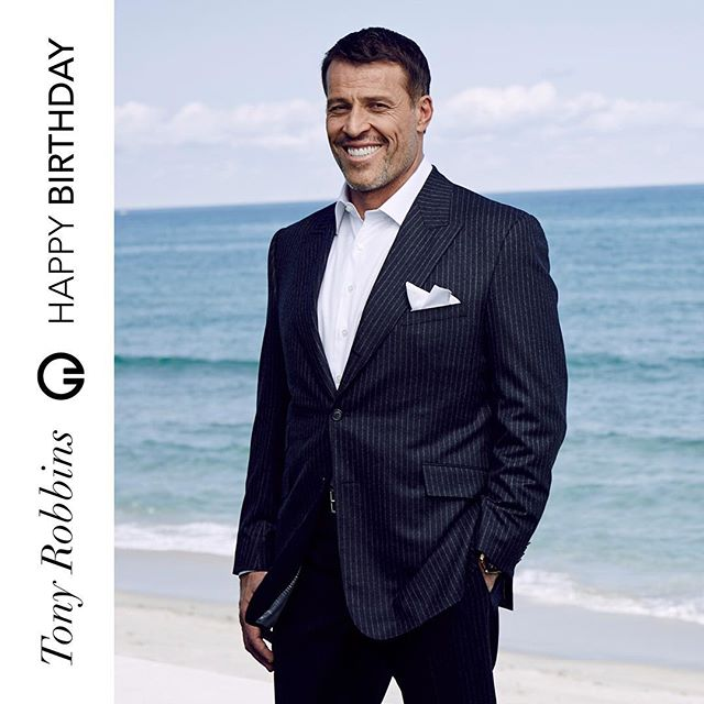 """""""Questions provide the key to unlocking our unlimited potential."""" 🎶 Happy birthday to the inspirational Muzik.Family member @tonyrobbins.  Ps: A leap-year birthday means we celebrate you today and tomorrow! #MuzikFamily"""