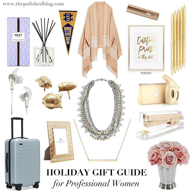 So excited to post a holiday gift guide for hardworking professional ladies! 🎁 This guide is full of items to simplify and beautify the work day. Tag a friend who deserves everything on this list (and/or the person who will be buying her presents 😉)! Link in bio.