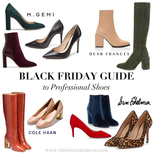 I've put together a list of some of the Black Friday shoe sales that I'm most excited to shop this weekend. 👠 Link in bio. What's on your Black Friday wish list? 📝🛍