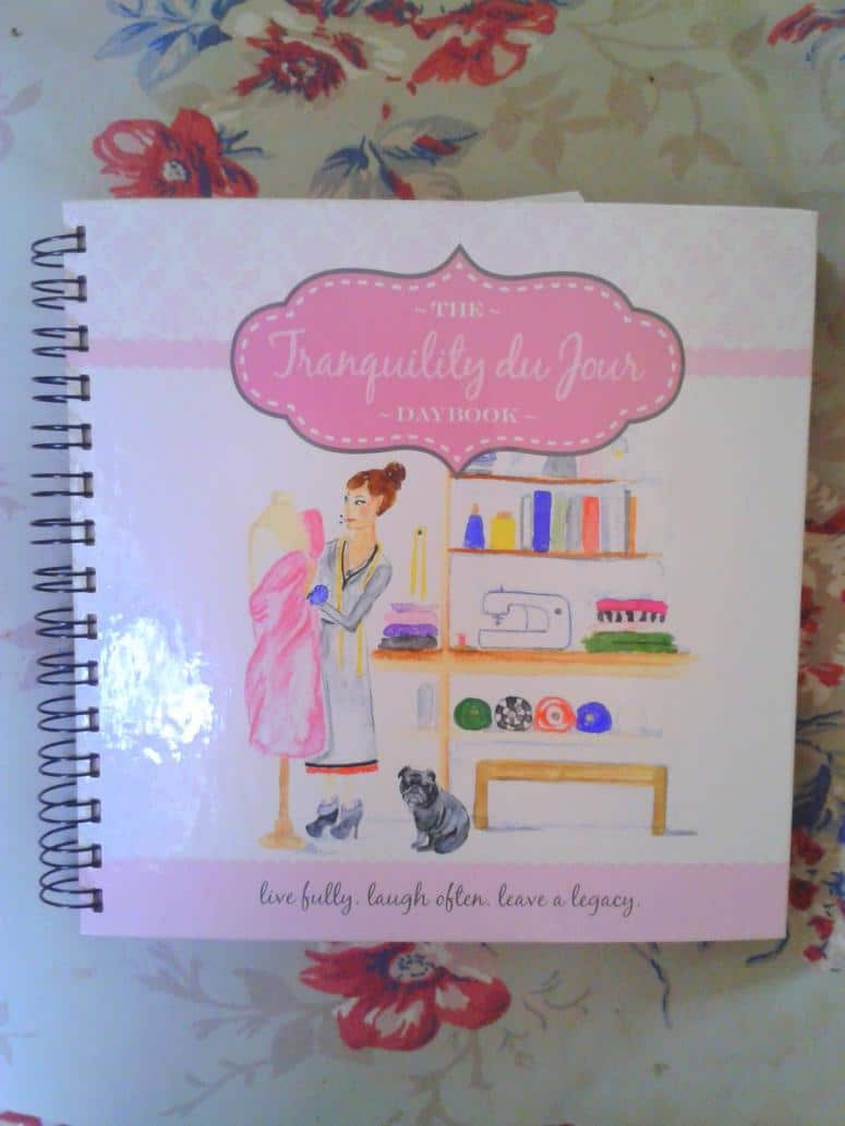 Daybook - Tranquility Jane's monthly goals for June