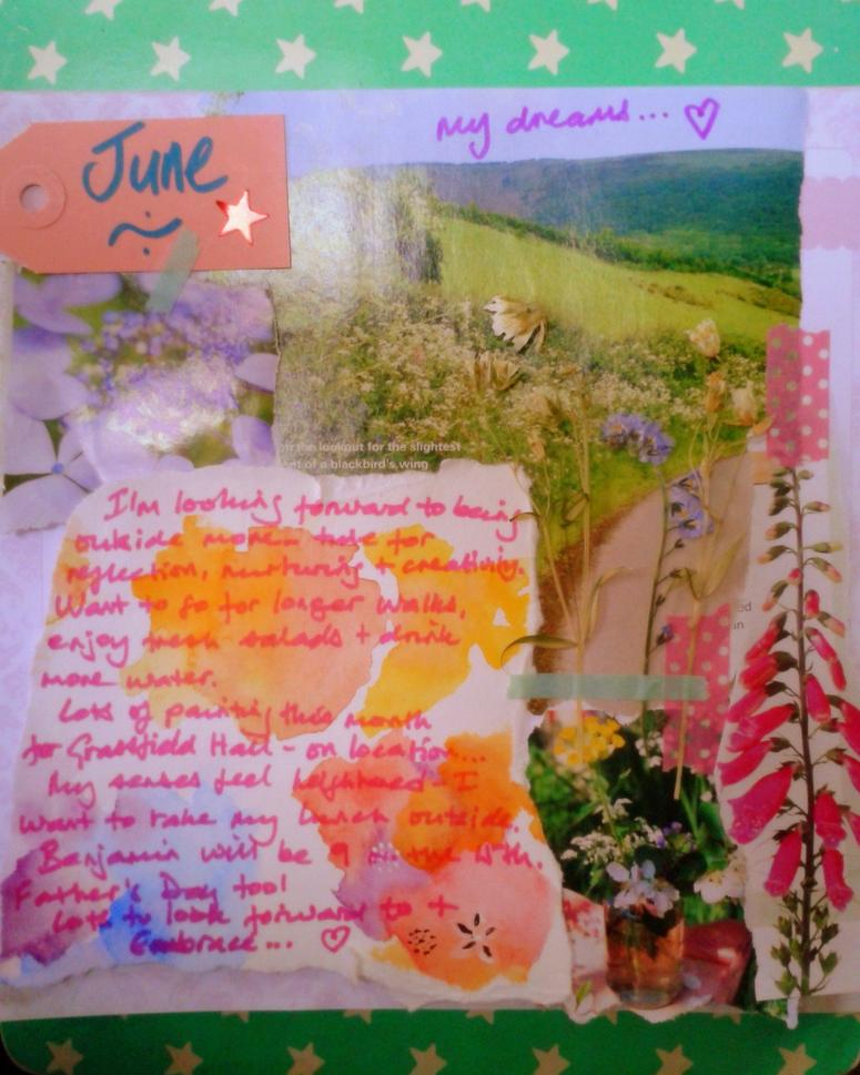 Monthly goals dreams wishes for june