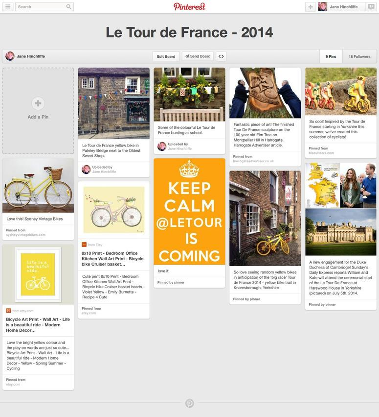 Le Tour de France - 2014 on Pinterest 2014-07-04 14-45-07