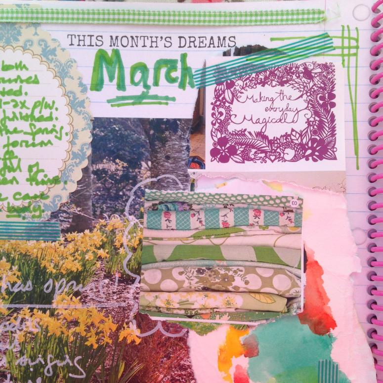 march monthly dreams