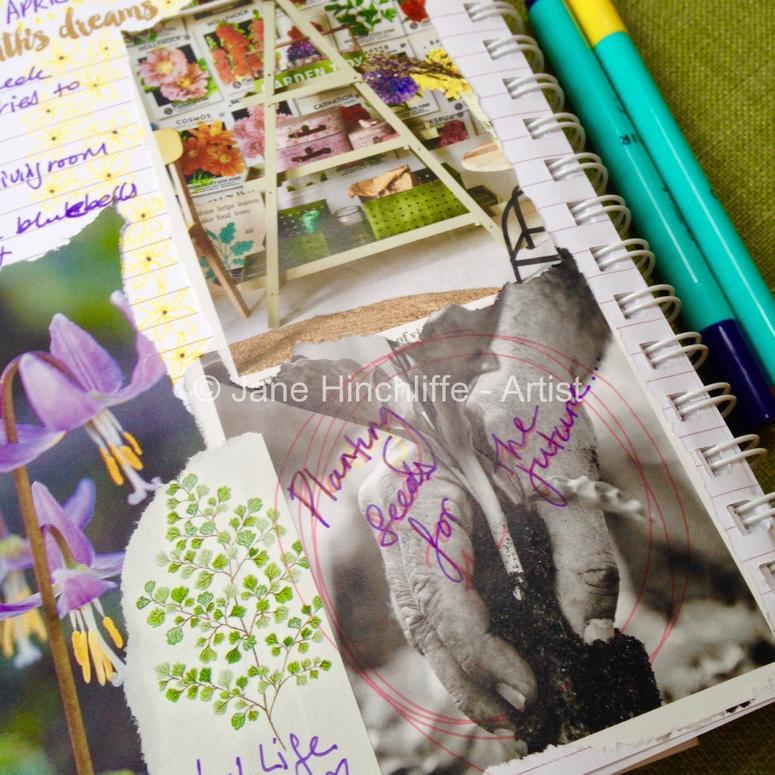 April 2016 - monthly goals dreams
