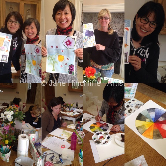 Bloom painting workshop