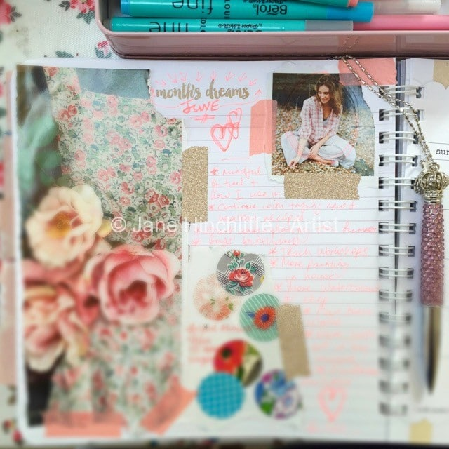 June dreams and goals - Summer planning