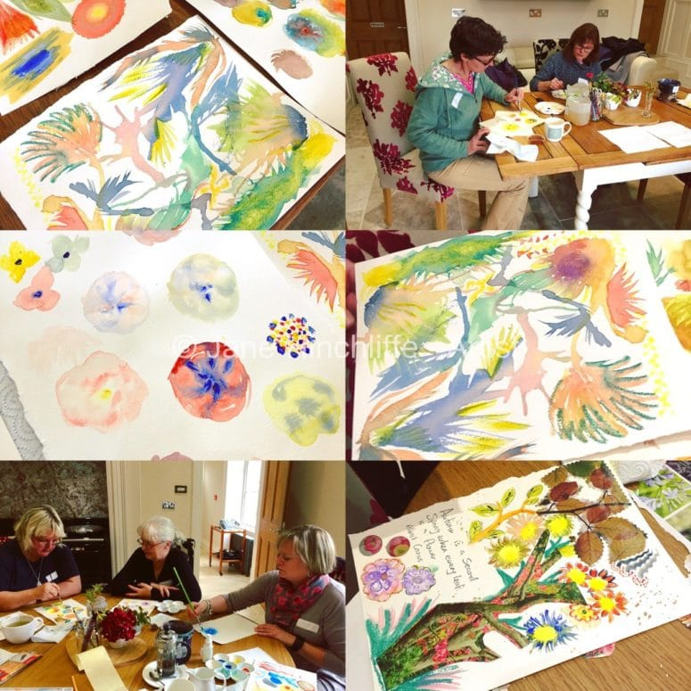 getting creative painting workshop