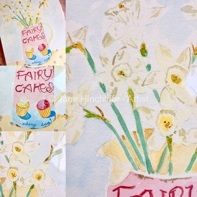 Fairy Cakes and Daffodils - Spring into your creativity