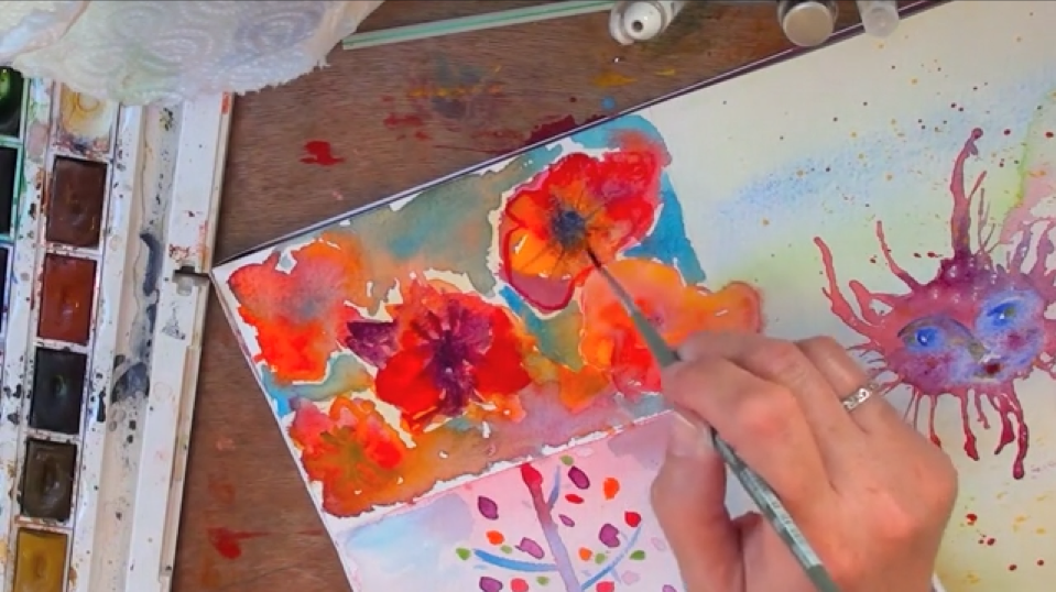 Screenshot of Watercolour Play