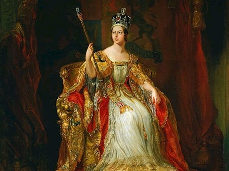 Queen Victoria - UK monarch - Coronation photo