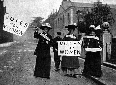 The Suffragette Movement - winning the right for women to vote