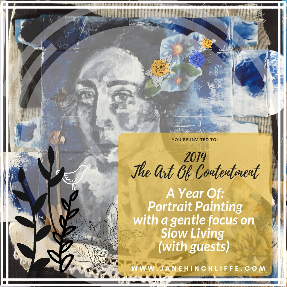 Portrait Painting 2019 - The Art Of Contentment