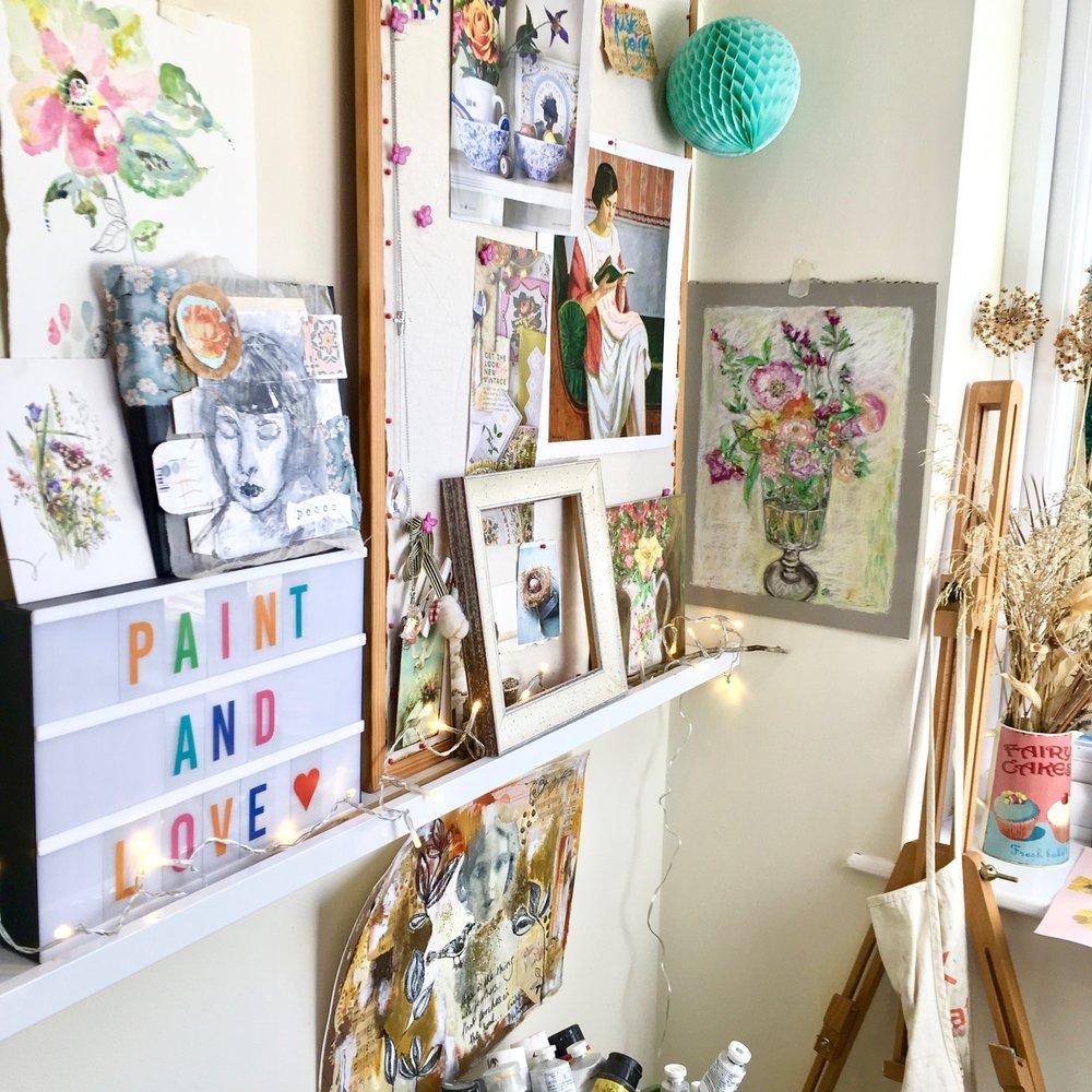 art shop - Originals | Prints | Gift Cards + More…