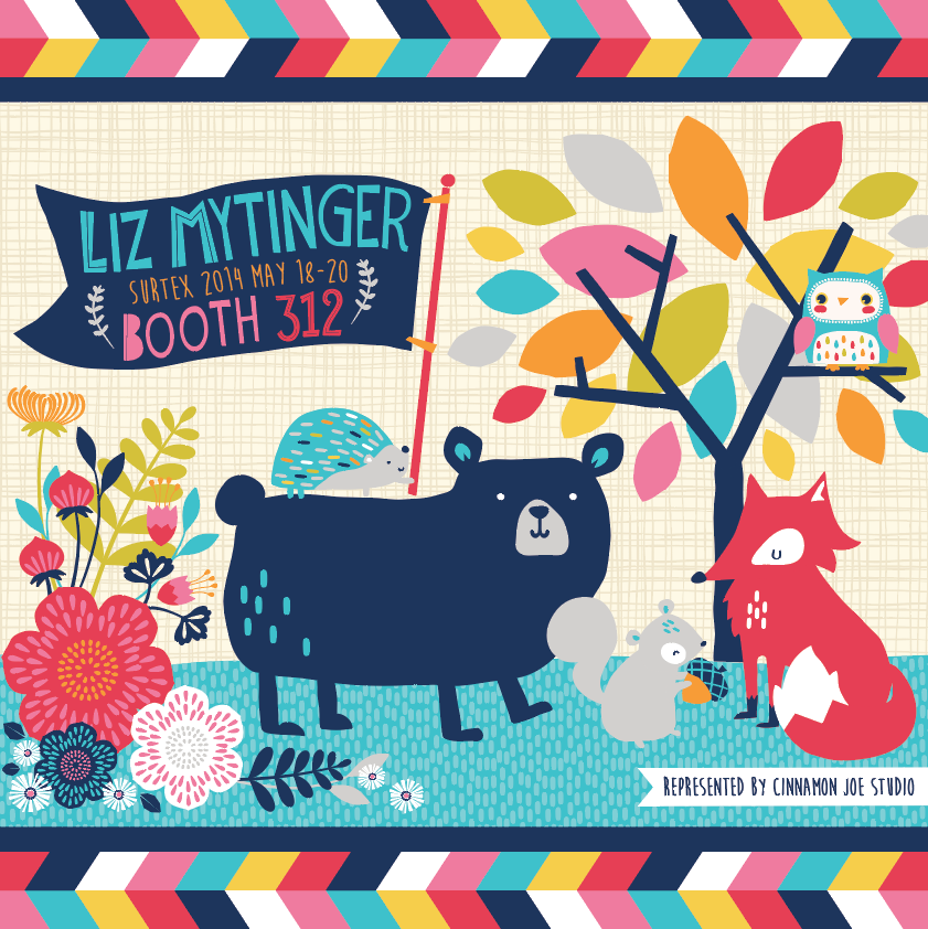 My first Surtex promo