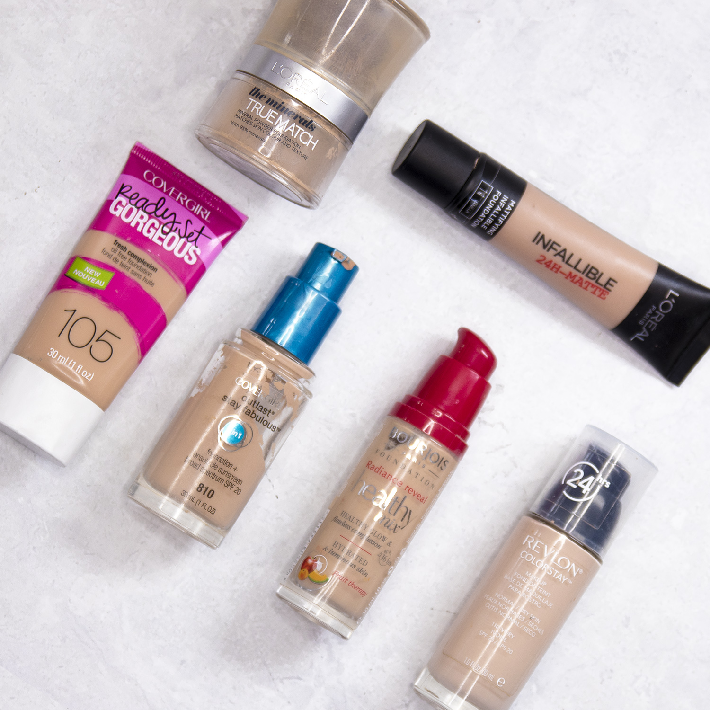 The Best Drugstore Foundations For Oily Skin Hello Sharon Farrell