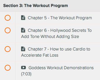 goddess toning program workout