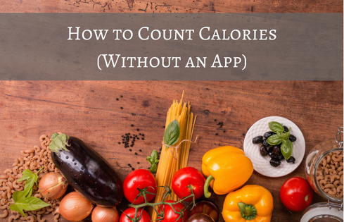 how to count calories without an app