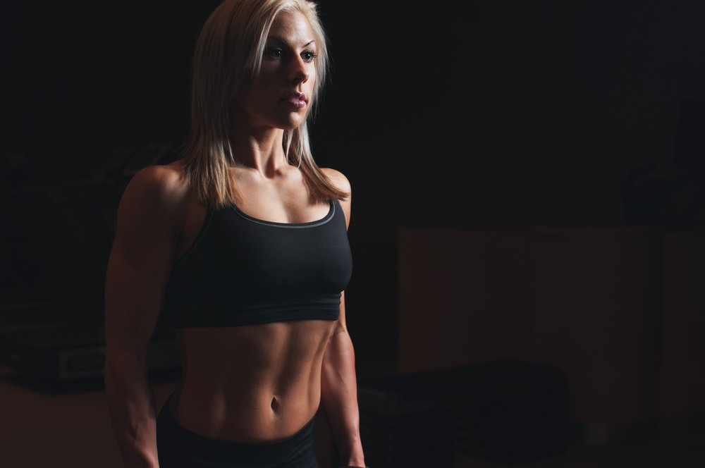 how long to get abs female