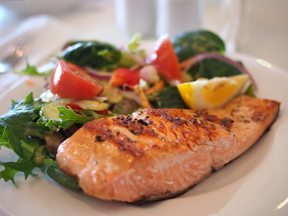 fish high protein meal