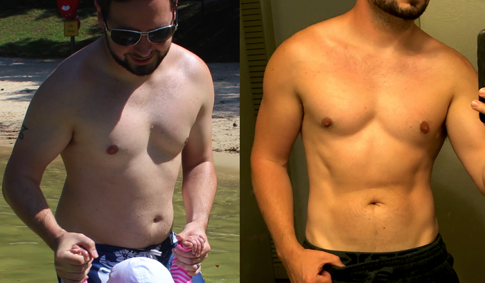 Yep, that's me after 12 months on Kinobody.
