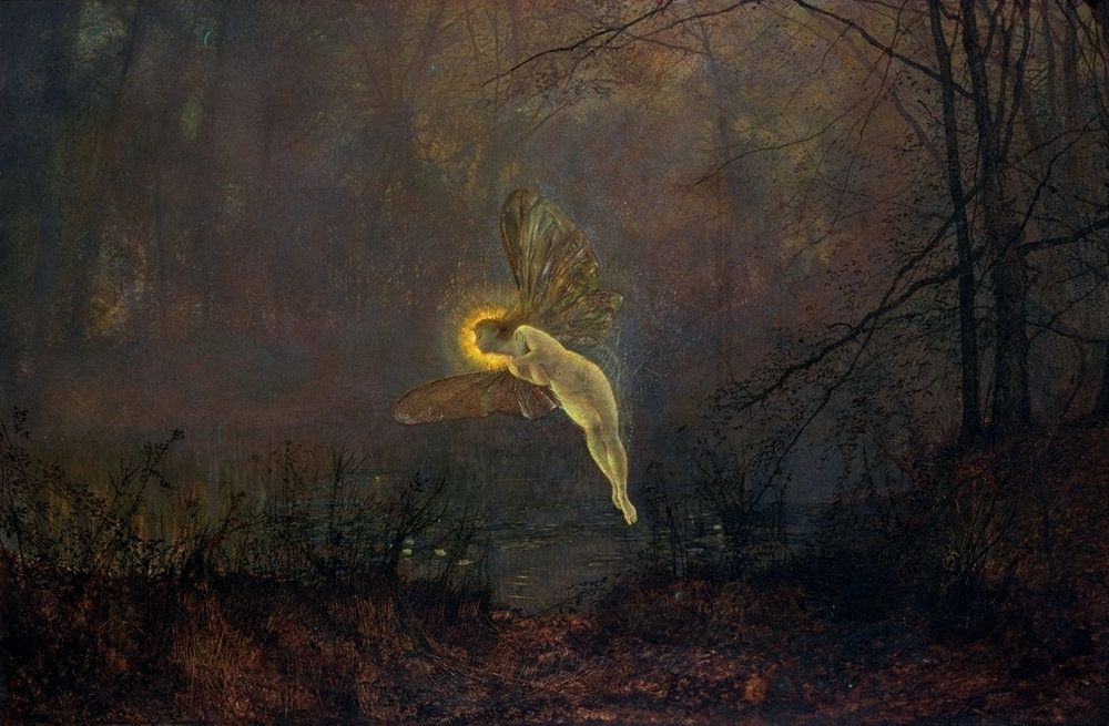 John Atkinson Grimshaw, Midsummer Night, 1876
