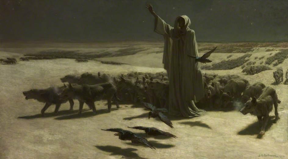 Famine, John Charles Dollman (1851–1934)