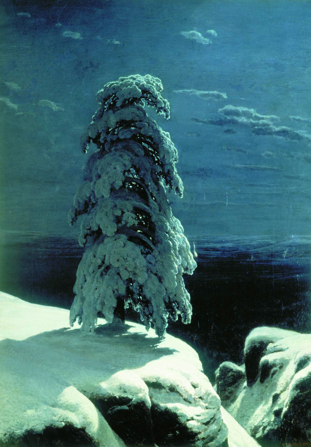 In the Wild North (1891), Ivan Shishkin