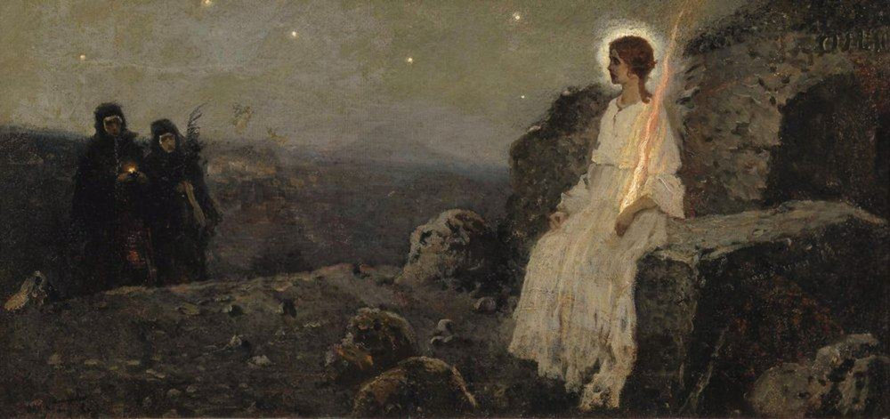 The Empty Tomb, 1889, Mikhail Nesterov