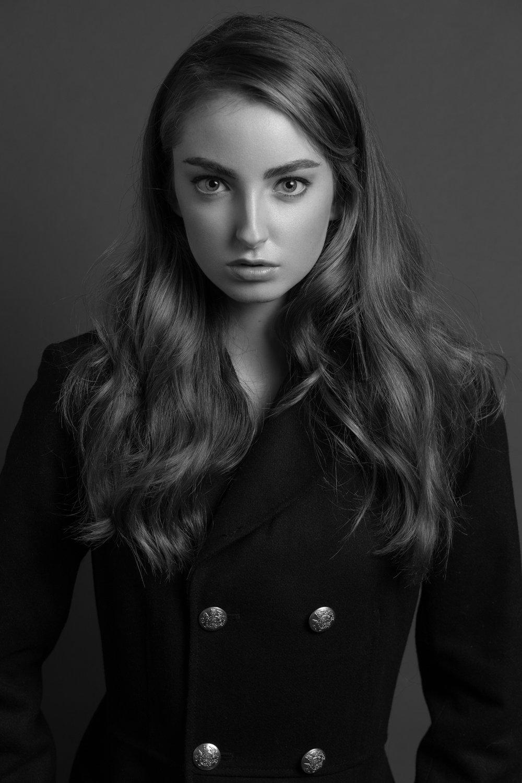 Model:Sophia Lyonsof Scout SF Hair/Makeup:Maria Ojeda Camera: Canon EOS 6D Lens: Canon 85mm 1.8 EXIF: 1/125f/5.6 ISO200 Lighting: Godox V850 II + Godox 95cm Octabox on camera right
