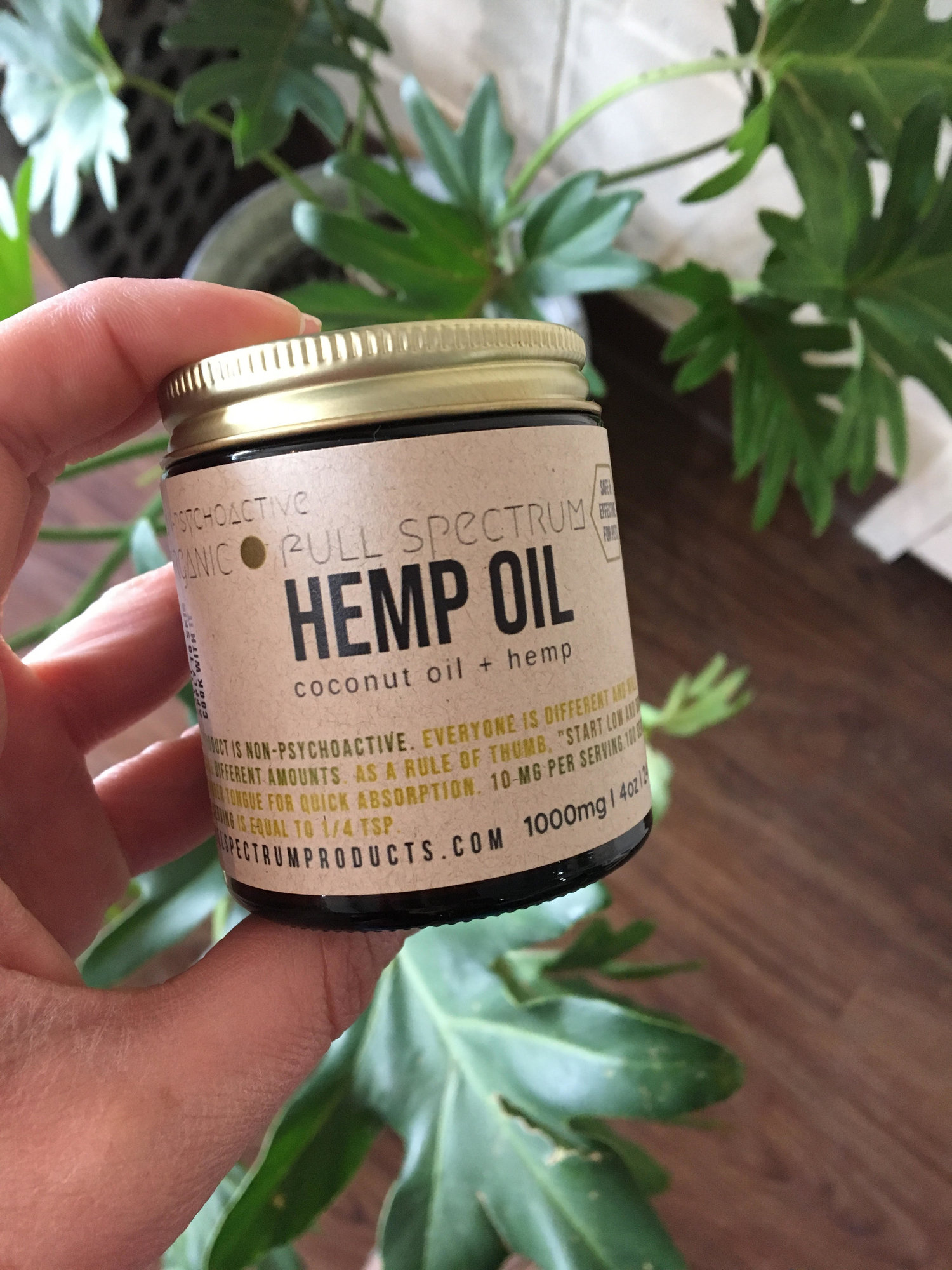 CBD Infused Coconut Oil by Lichen Livin' — Refill Revolution