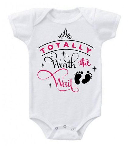 af54db2a5c02 Totally Worth The Wait Onesie — Paradise Paint Parties   Gifts