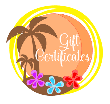 Paradise Paint Parties & Gifts are available in any amount you choose and sent directly to the recipients inbox! Purchase at ParadisePaintParties.com